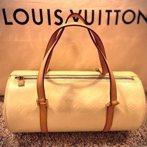 BRAND NEW Louis Vuitton Perle Vernis Bedford Bag